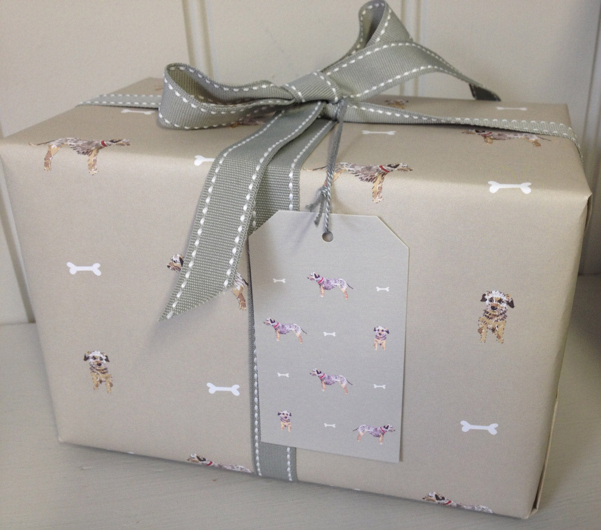Terrier Gift Wrap