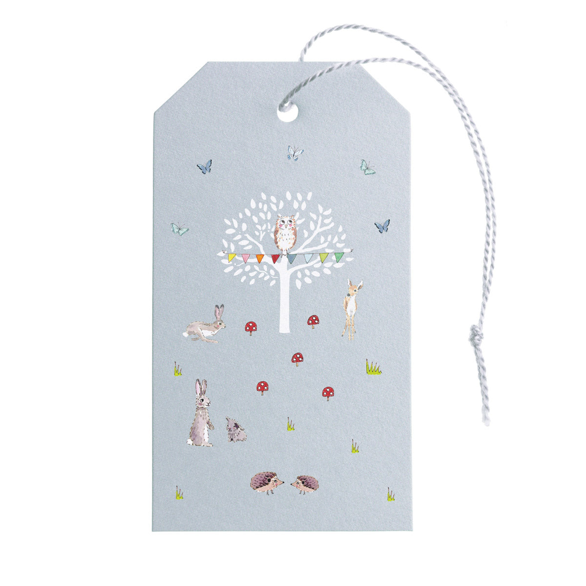Woodland Party Gift Tags - Set of 10