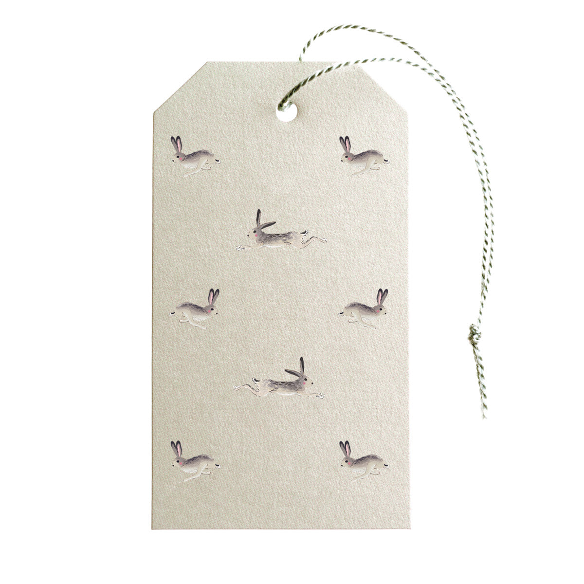 Hare Gift Tags - Set of 10