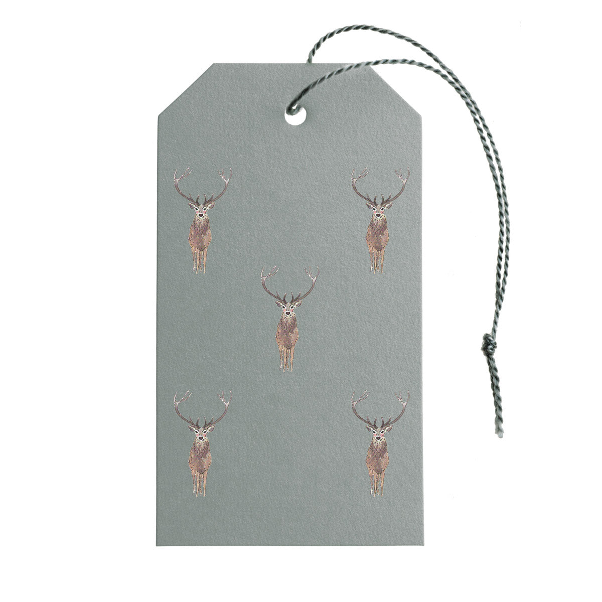 Highland Stag Gift Tags - Set of 10