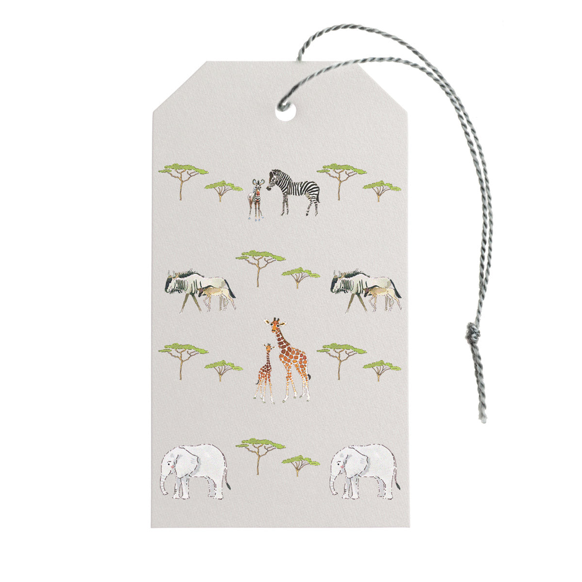 Safari Gift Tags - Set of 10