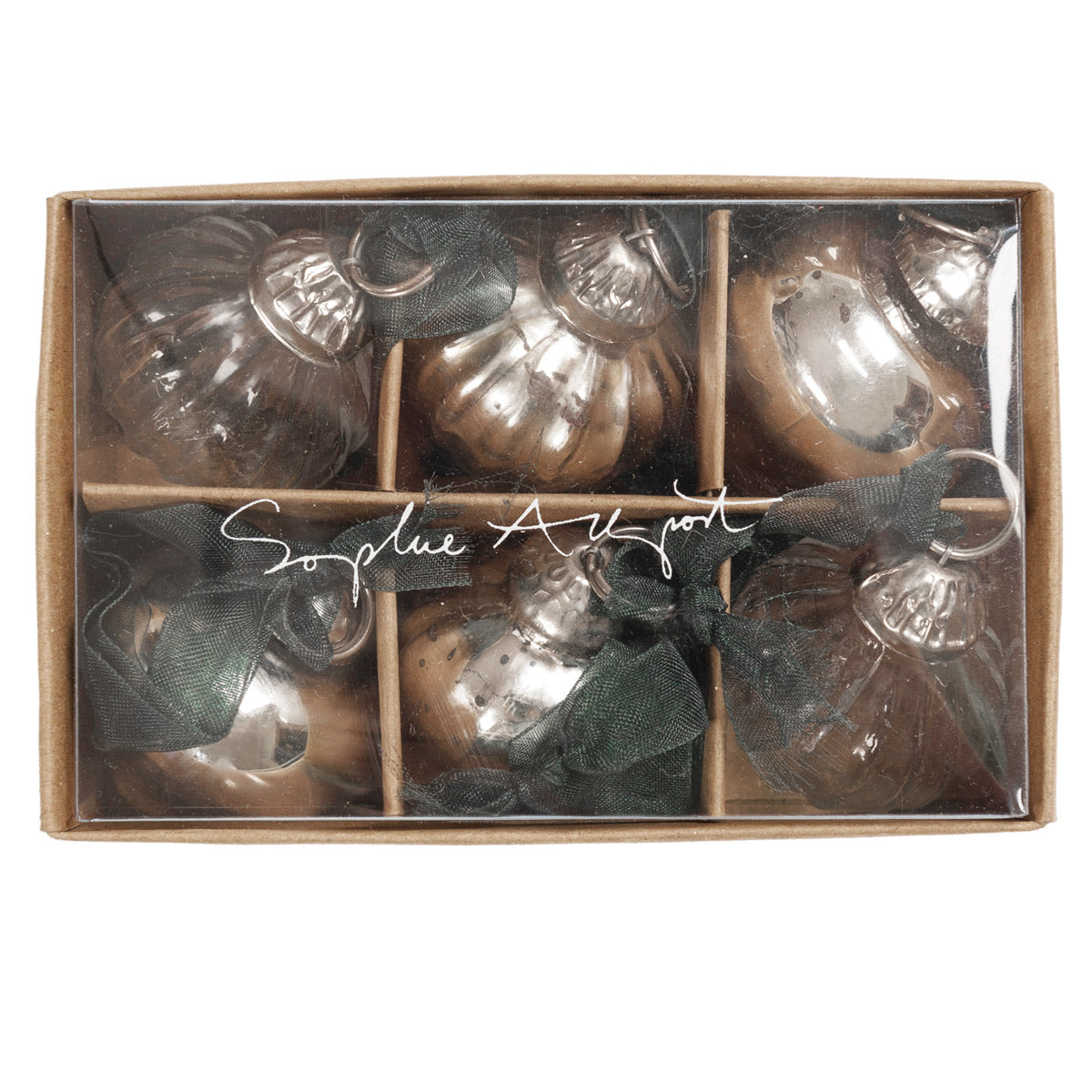 Onion Mini Baubles - Pack of 6