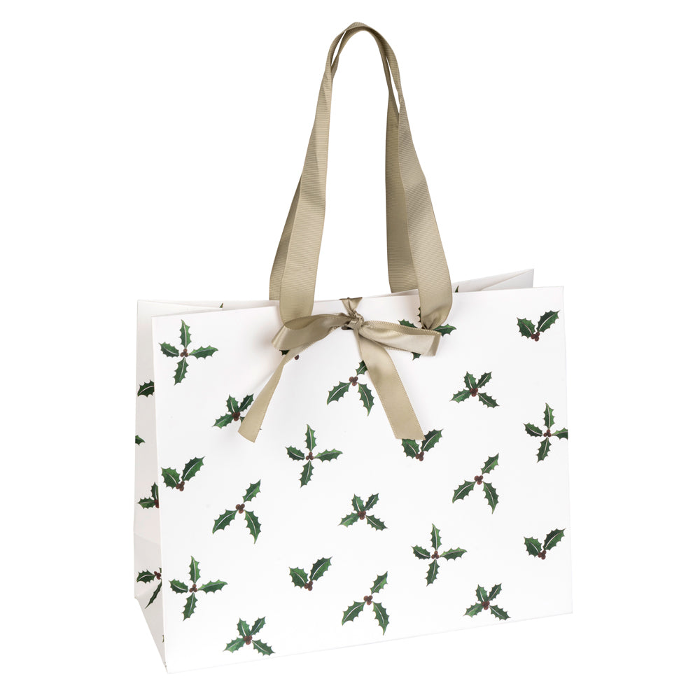 Holly & Berry Gift Bag
