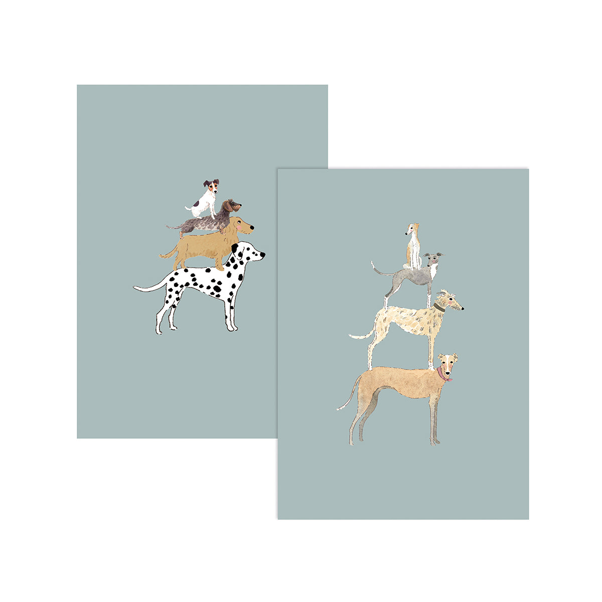 Pets Greeting Cards (Pack of 6)