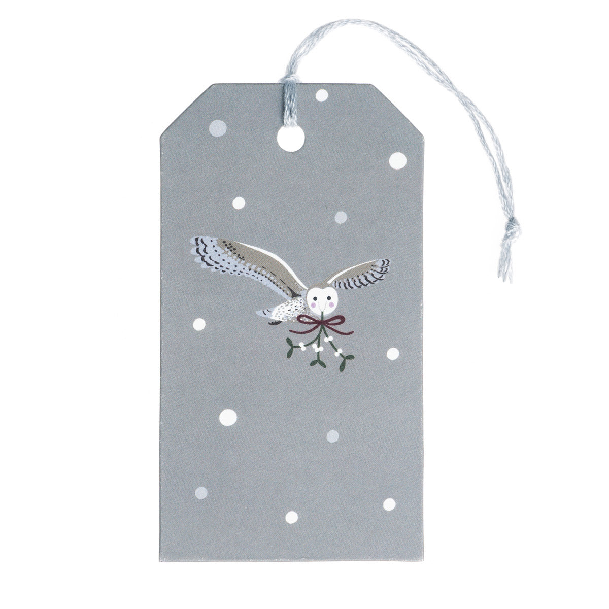 Night Owl Gift Tags - Set of 8