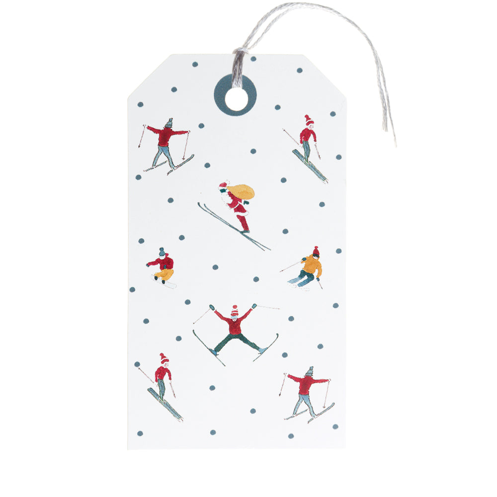 Skiing Gift Tags - Set of 8