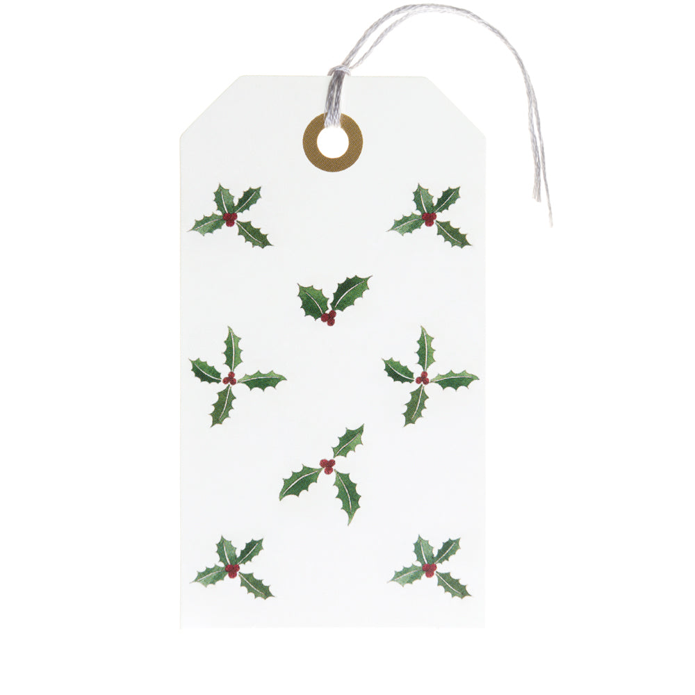 Holly & Berry Gift Tag Set of 8