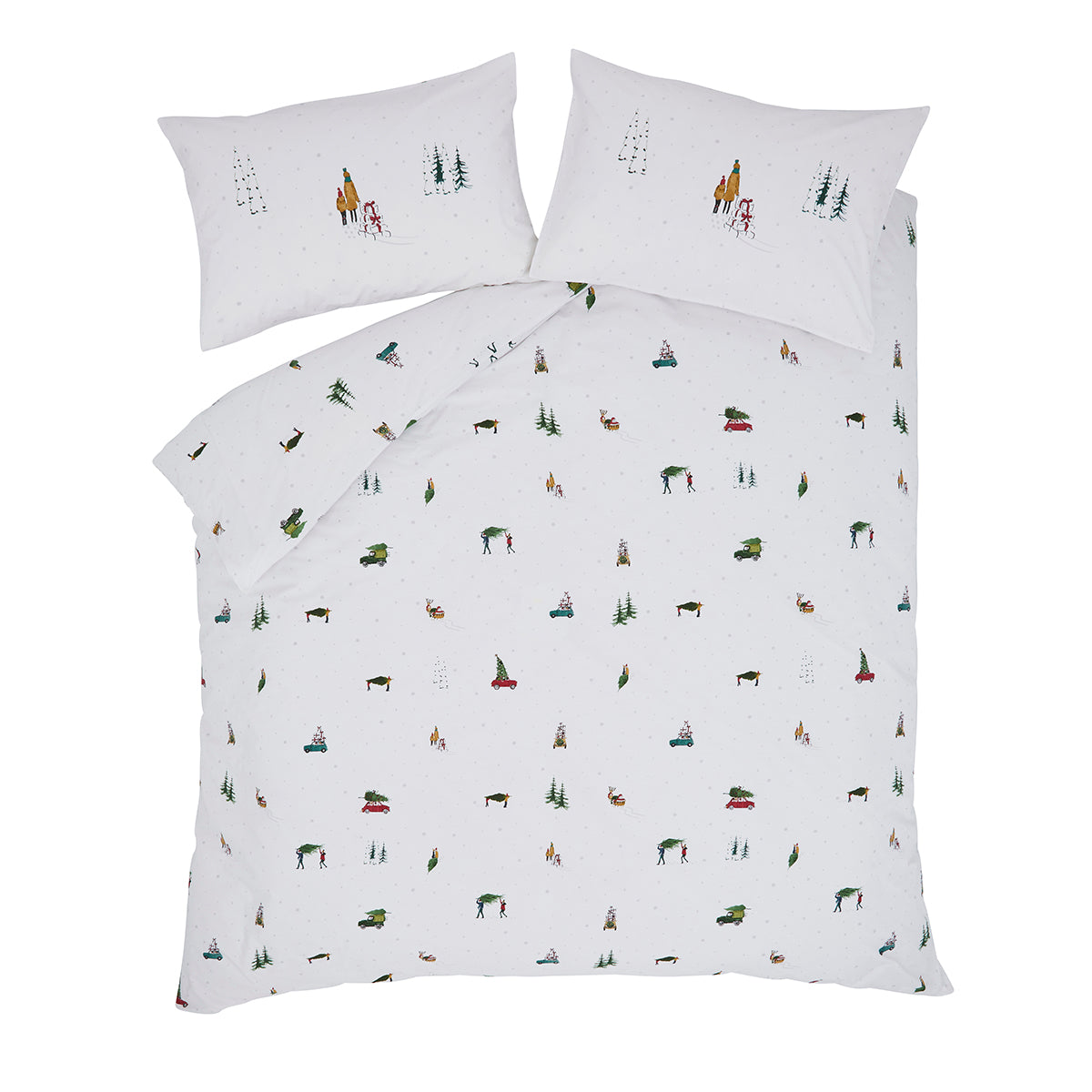 Home For Christmas Bedding Set