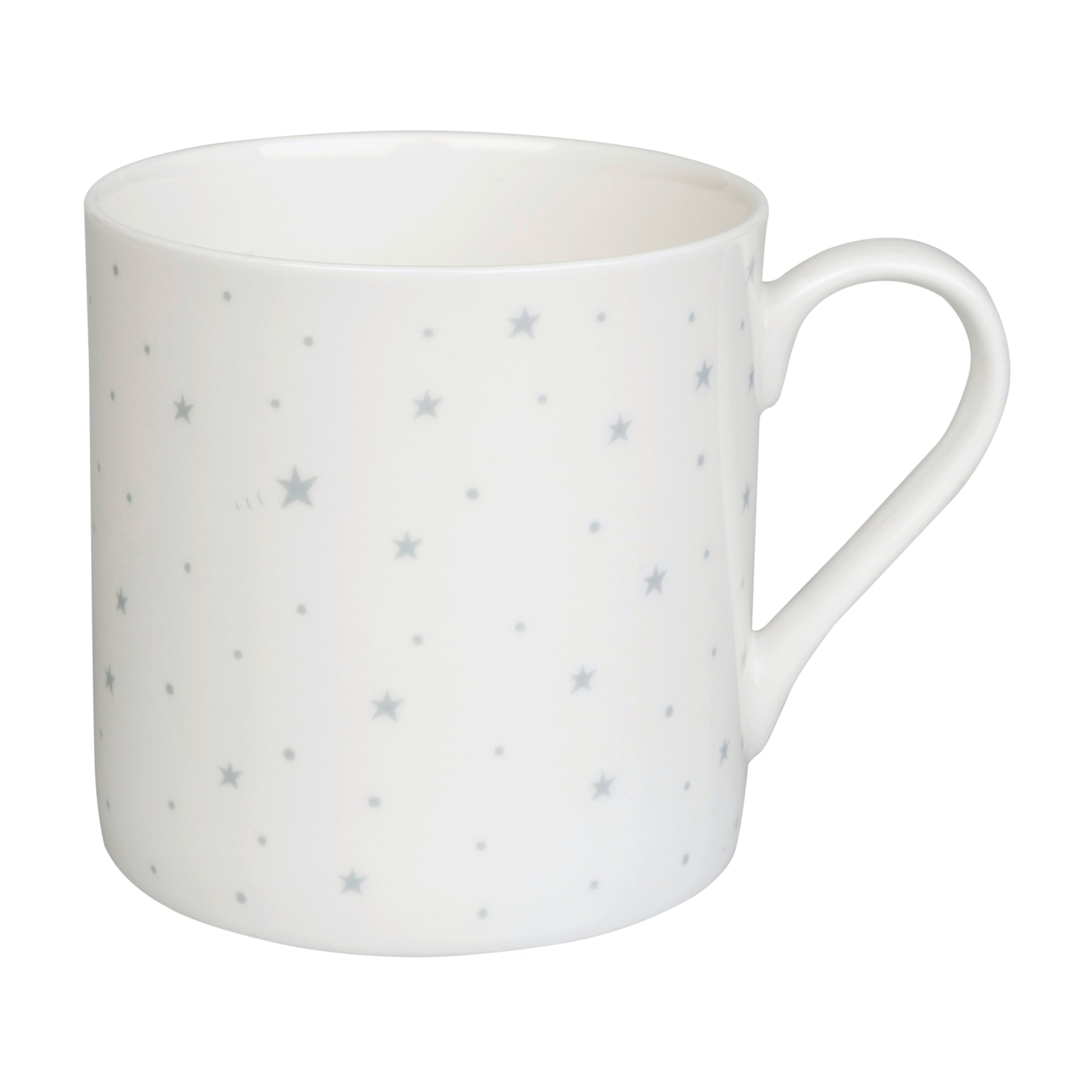 Starry Night White Mug