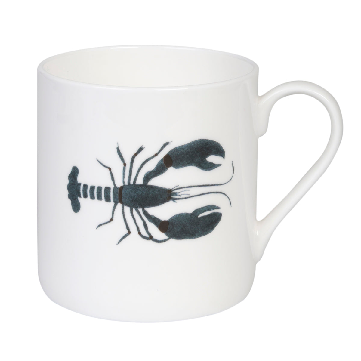 Fine bone china Sophie Allport Lobster Solo Mug