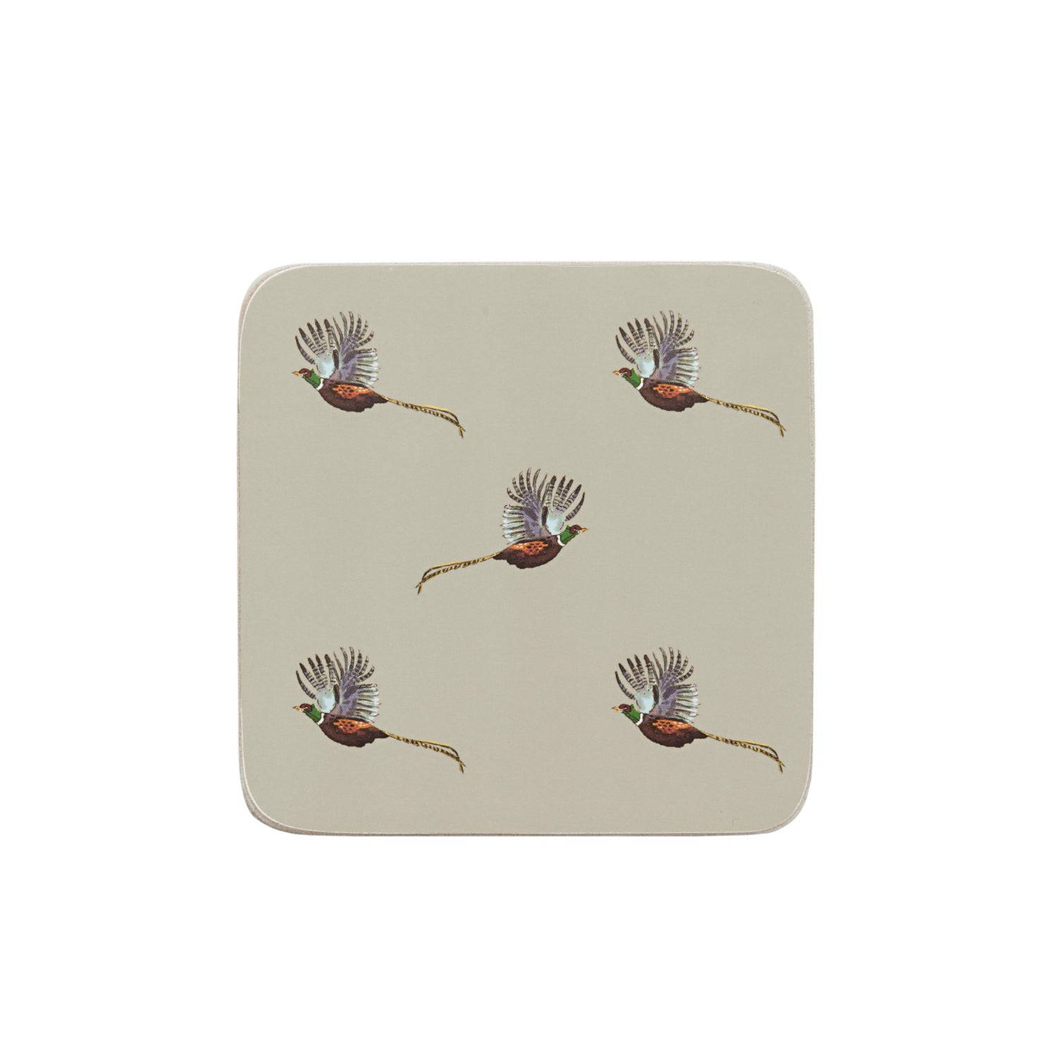 Pheasant Coasters - Set of 4
