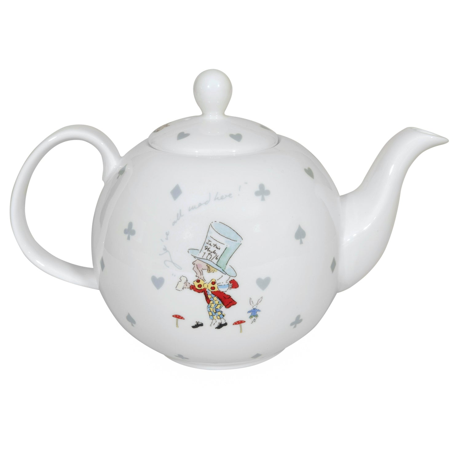 Alice in Wonderland Teapot