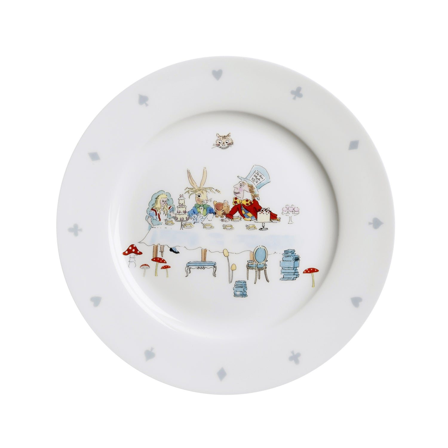 Alice in Wonderland Side Plate