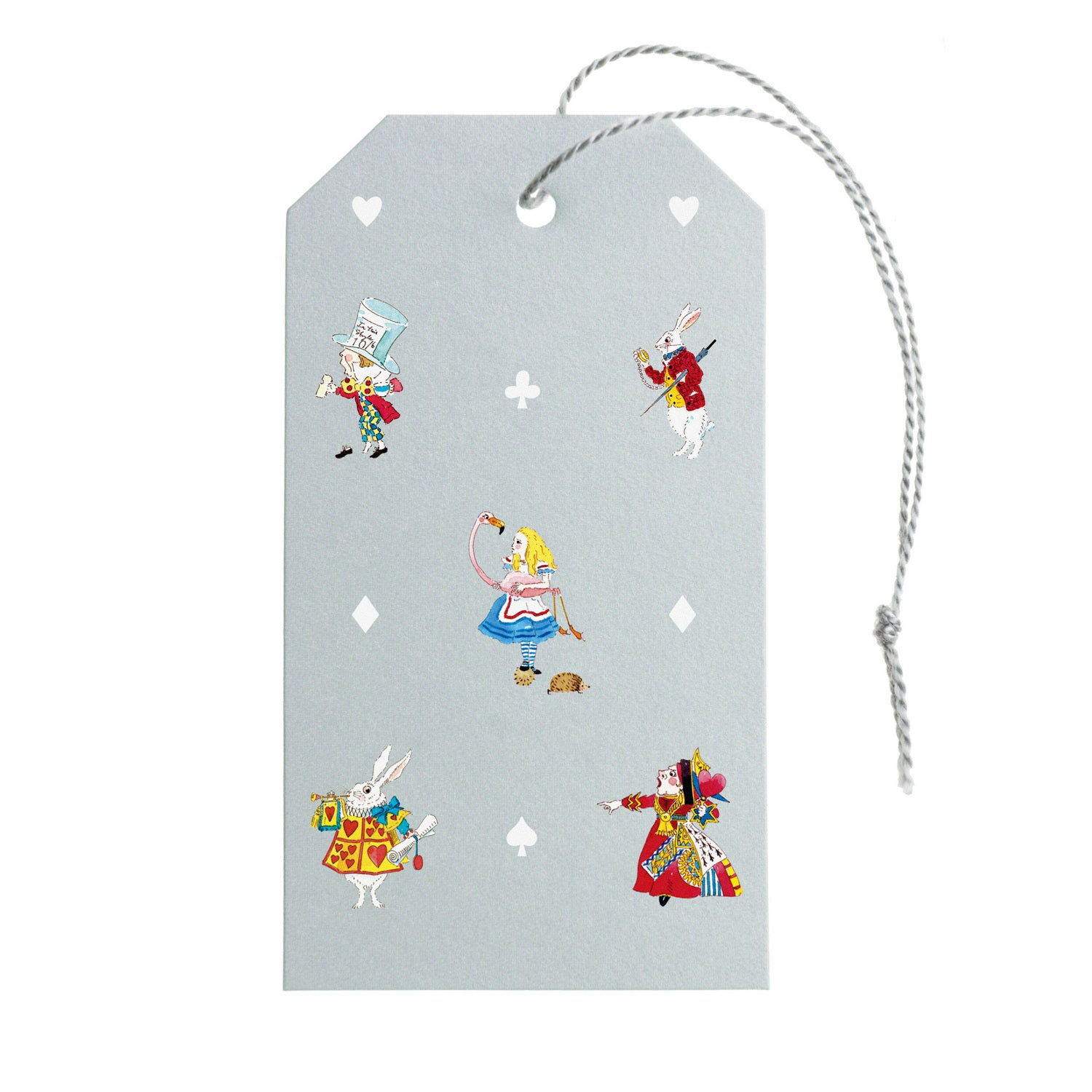 Alice in Wonderland Gift Tags - Set of 10