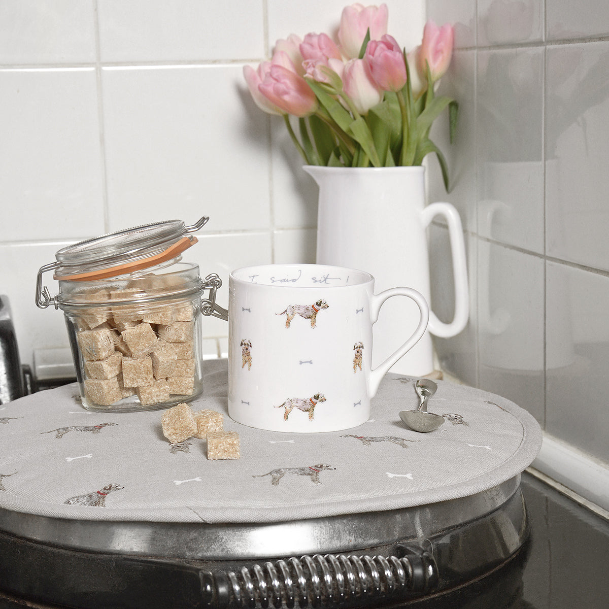 I Said Sit Terrier Mug by Sophie Allport