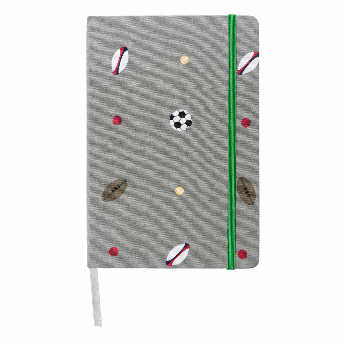 Balls Fabric A5 Notebook