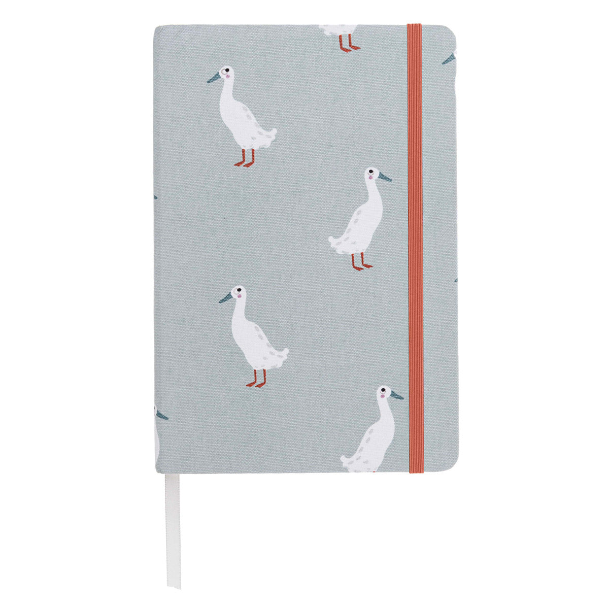 Runner Duck Fabric A5 Notebook