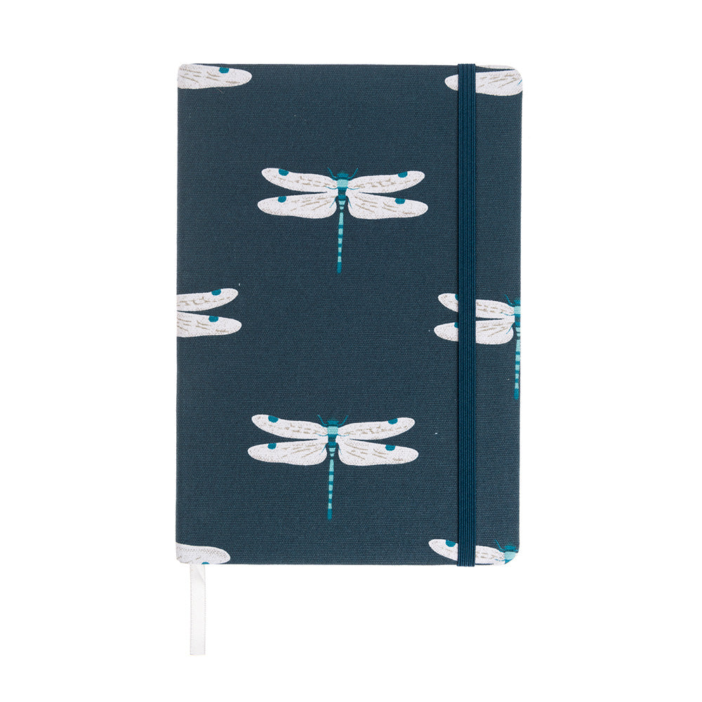 Dragonfly A5 Fabric Notebook