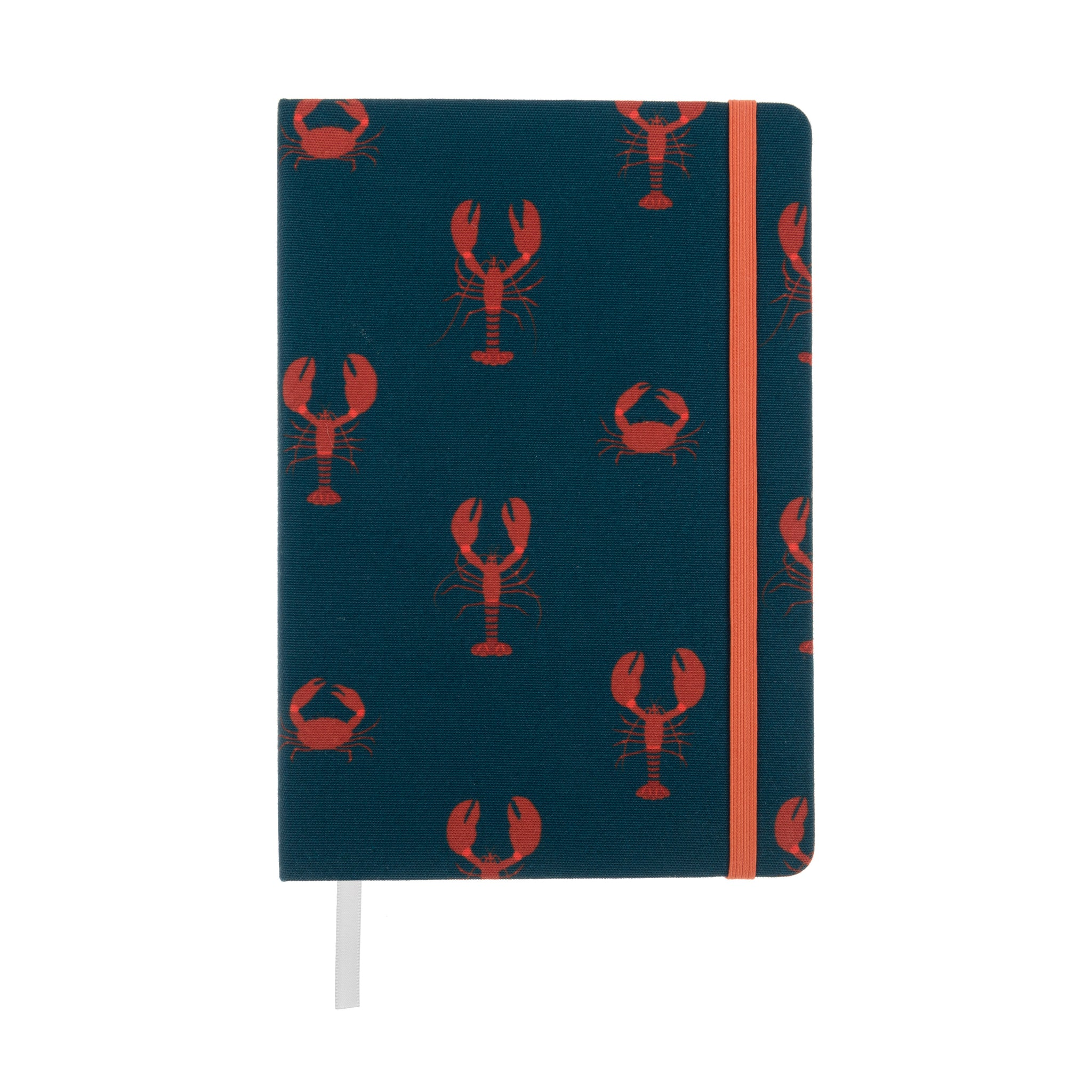 Navy Lobster A5 Notebook by Sophie Allport