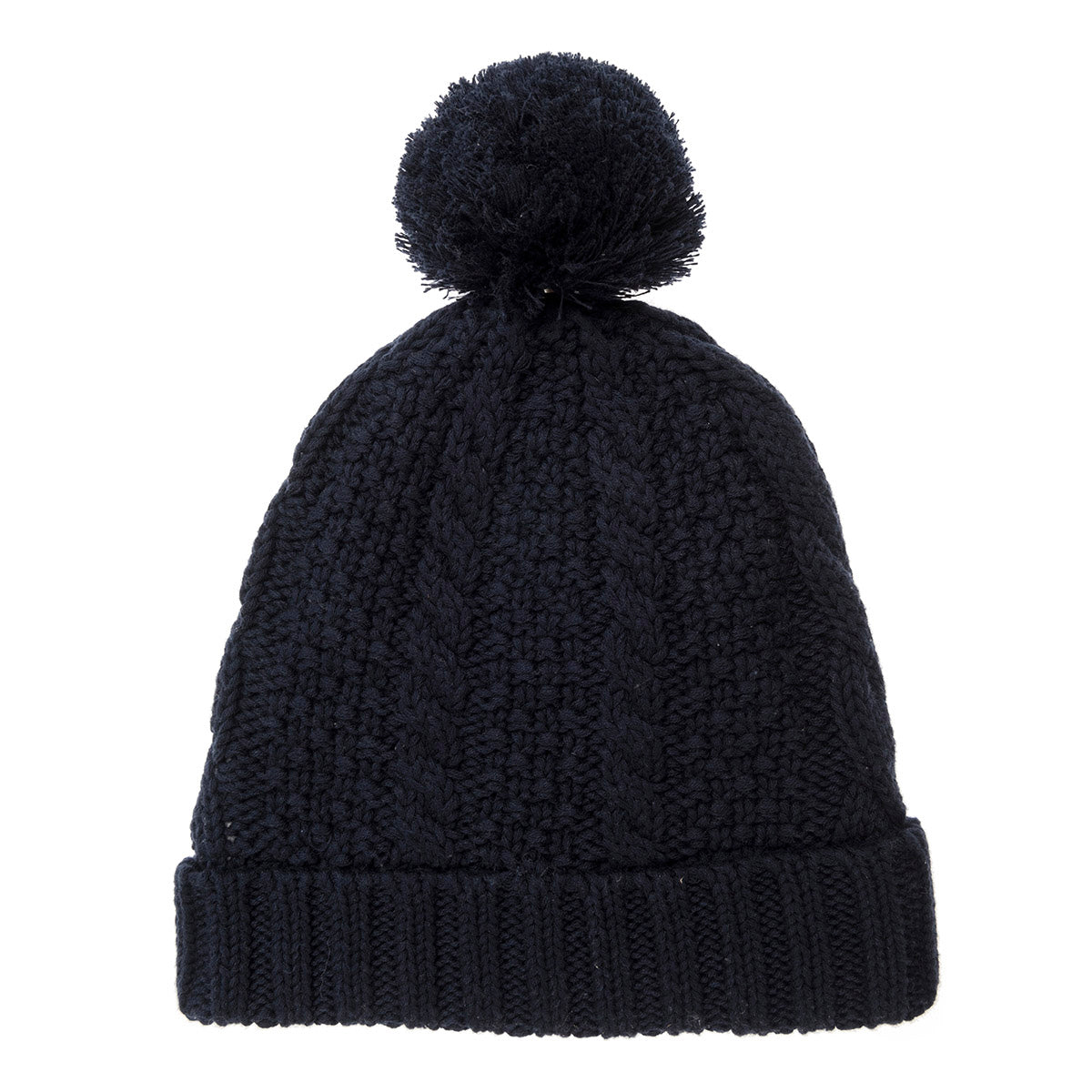 Navy Chunky Knitted Hat