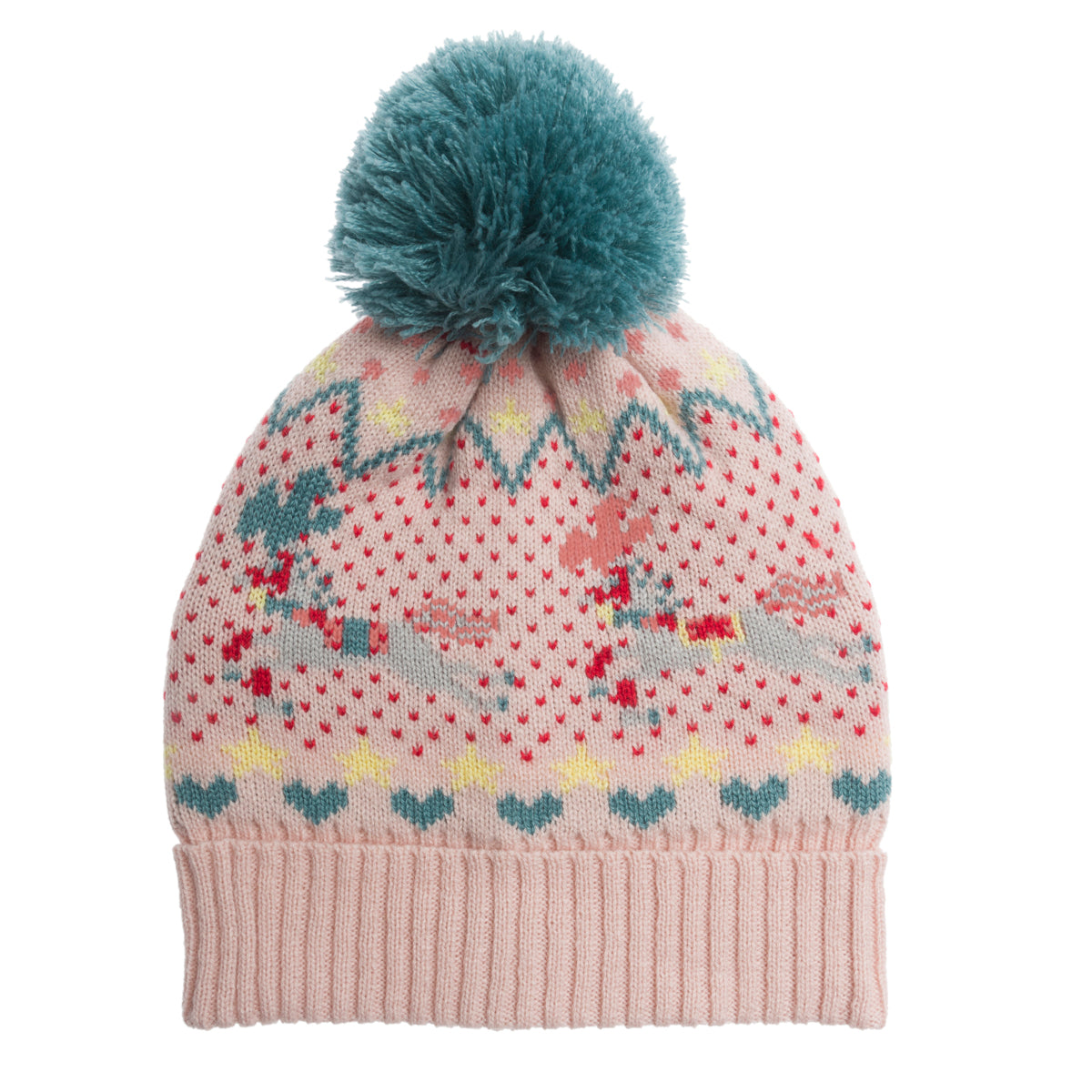 Fairground Ponies Knitted Kids Hat by Sophie Allport