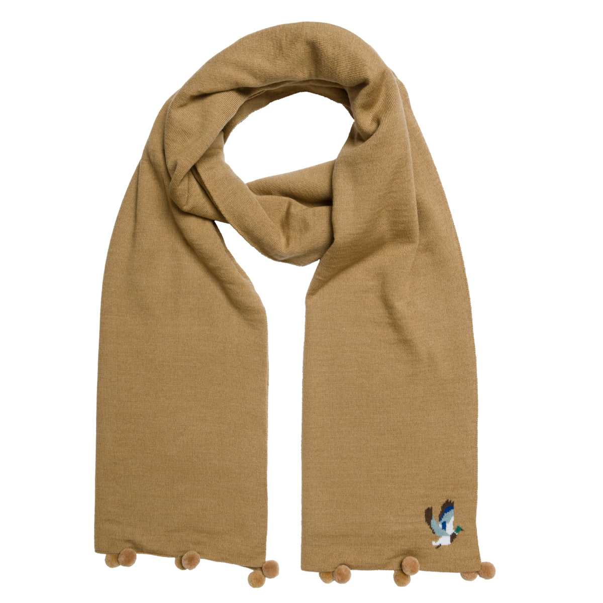 Ducks Knitted Scarf by Sophie Allport