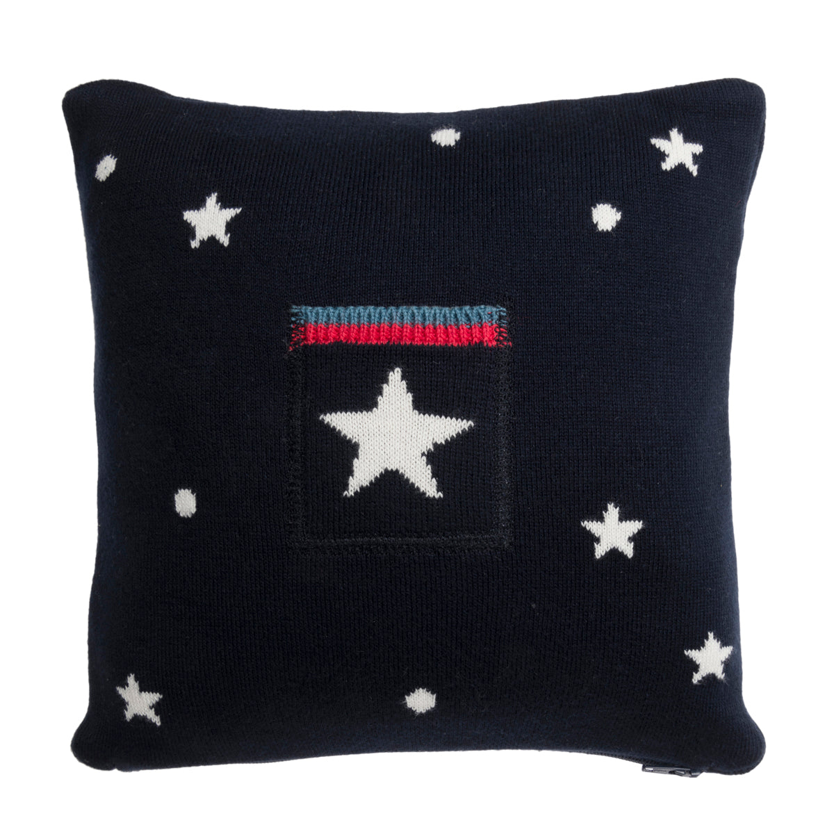 Knitted Space Kids Cushion by Sophie Allport