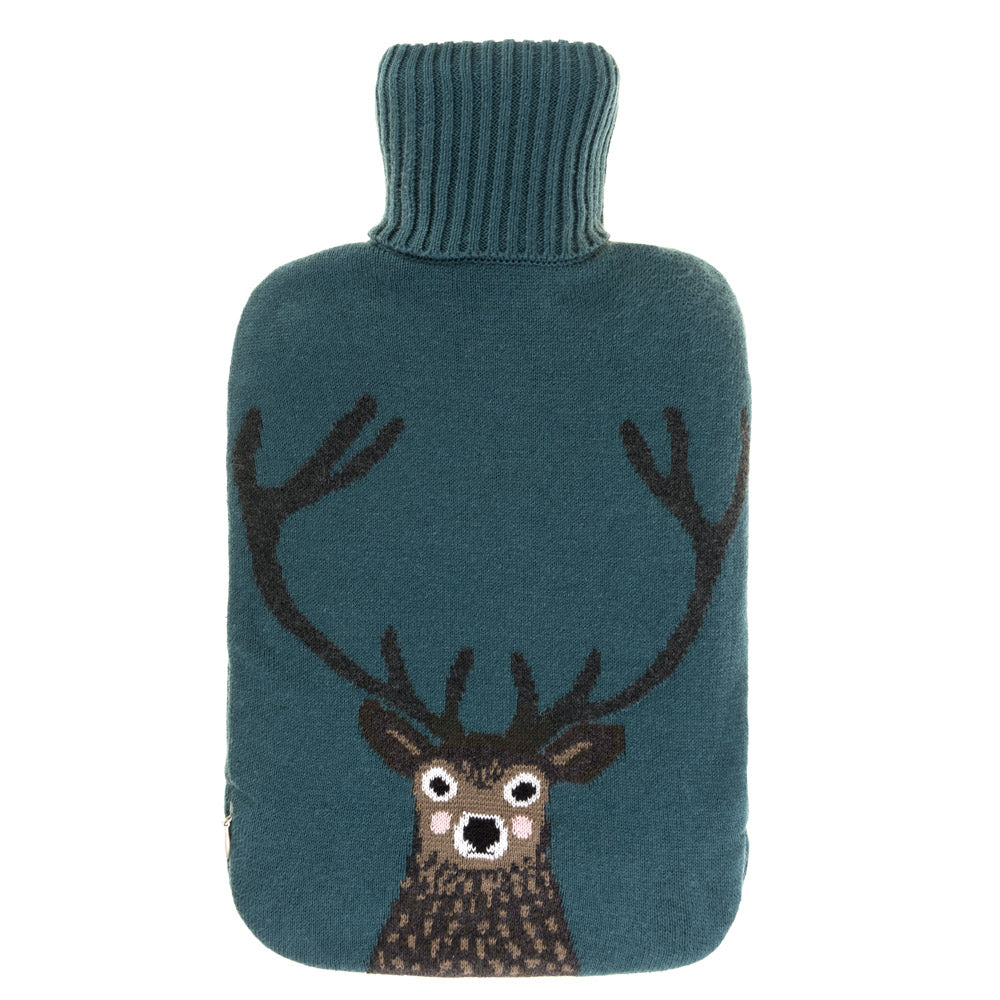 Highland Stag Hot Water Bottle