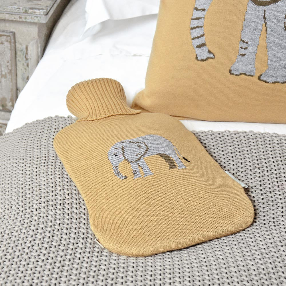 Elephant Hot Water Bottle