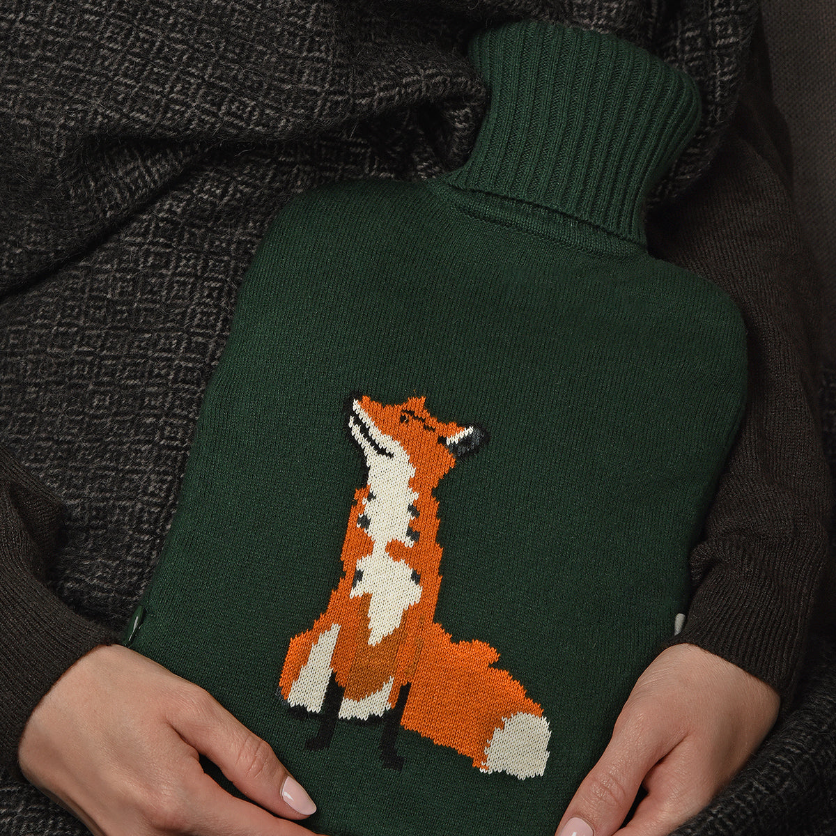 Foxes Hot Water Bottle