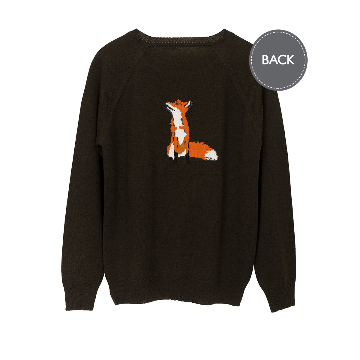 Foxes Knitted Jumper