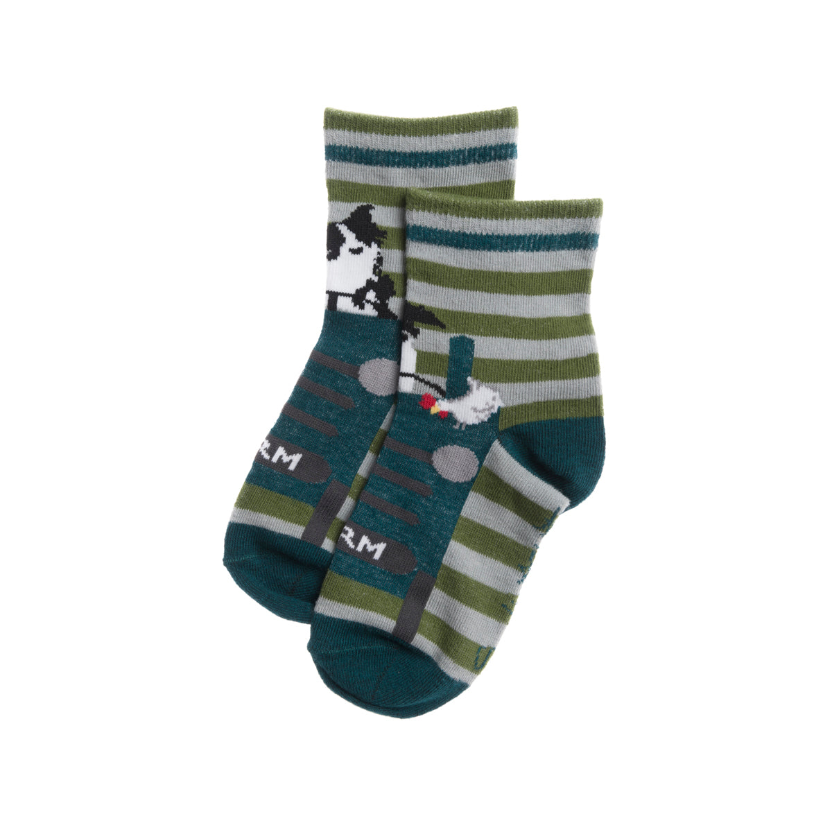 On The Farm Kids Socks