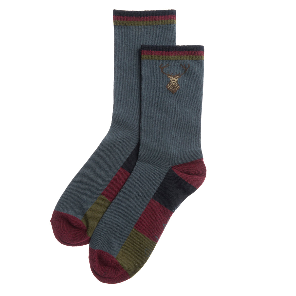 Highland Stag Mens Socks