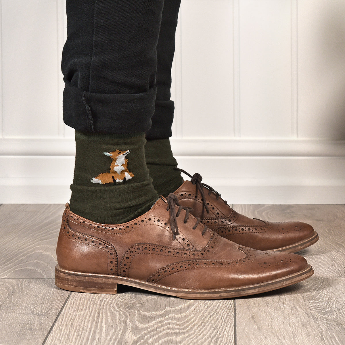 Foxes Mens Socks by Sophie Allport