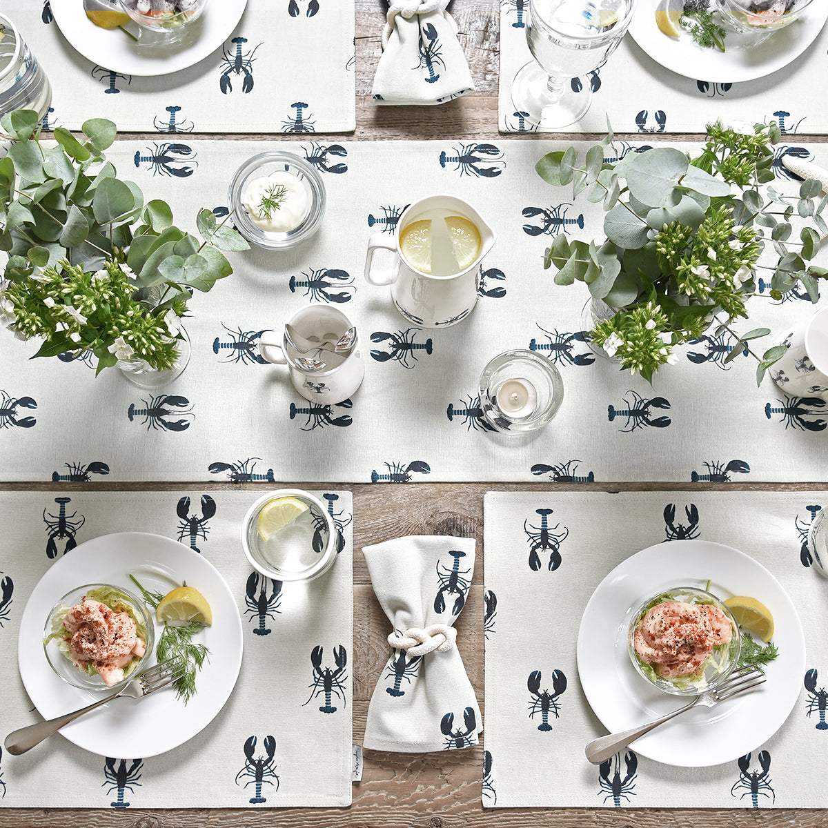 Lobster Fabric Placemat by Sophie Allport