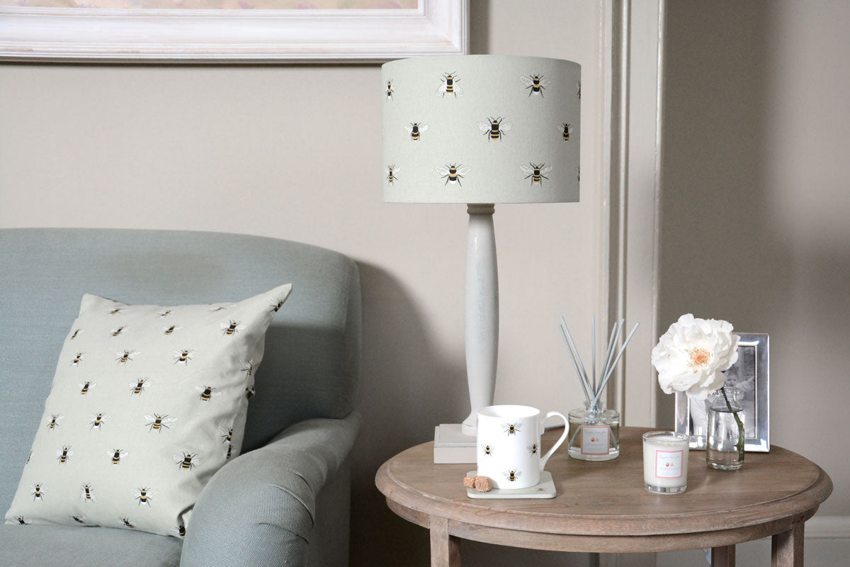 Bees Drum Lampshade
