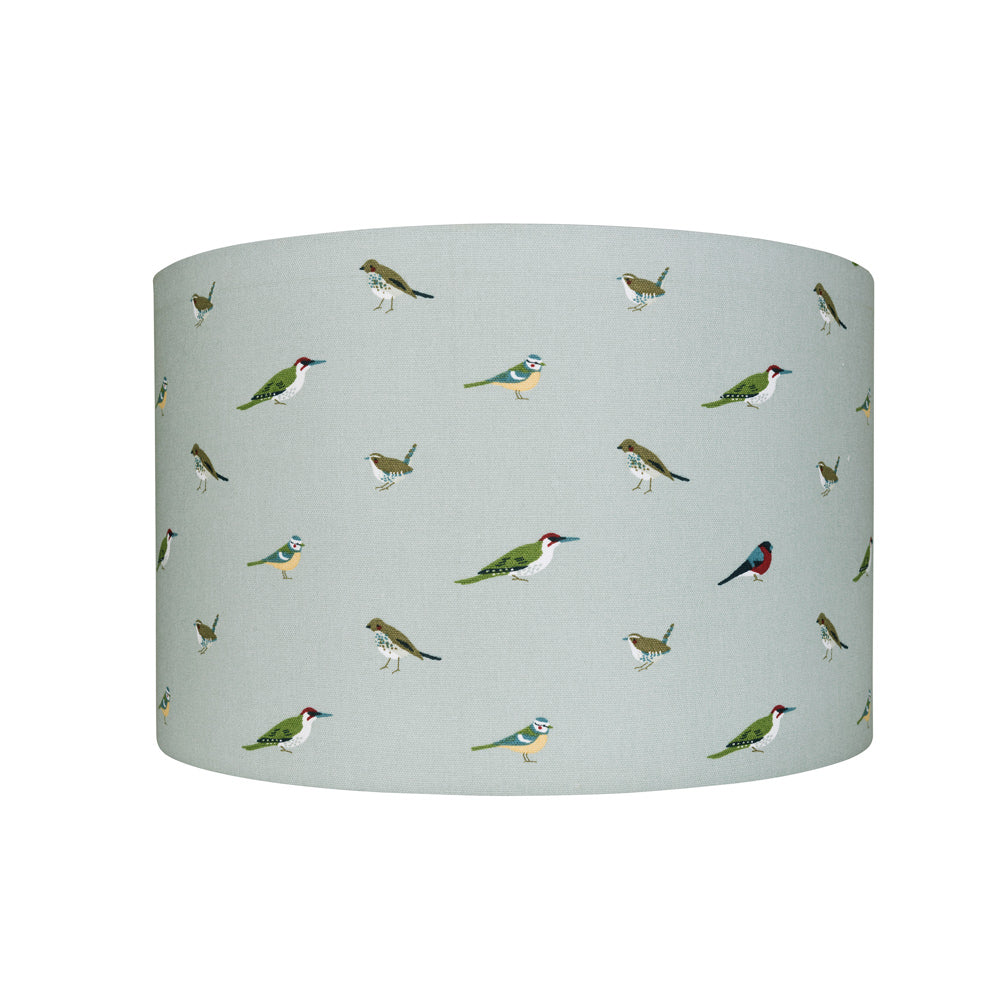 Garden Birds Drum Lampshade
