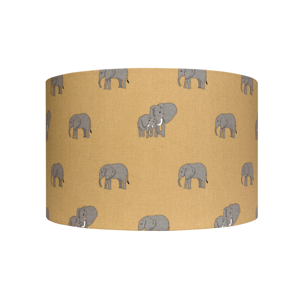 Elephant Drum Lampshade