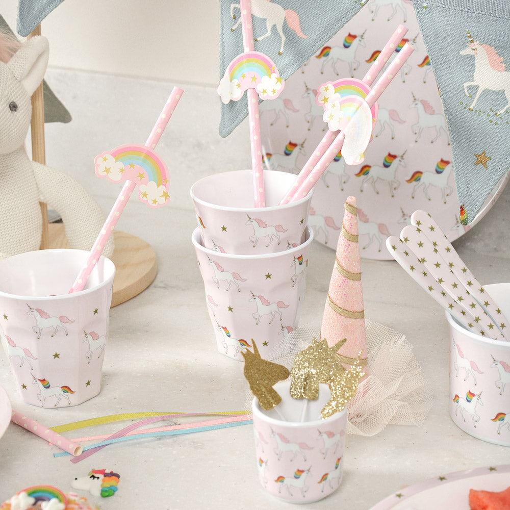 Unicorn Childrens Melamine Beaker