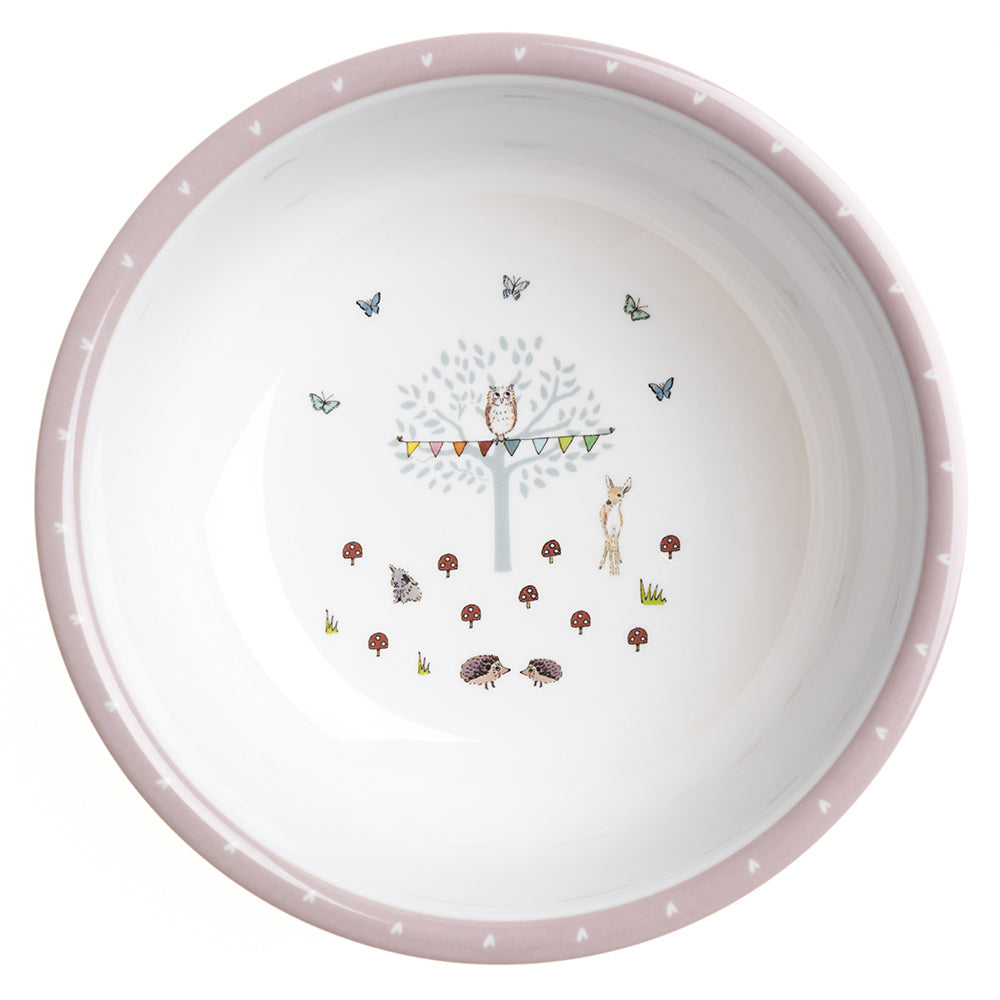 Woodland Party Childrens Melamine Bowl