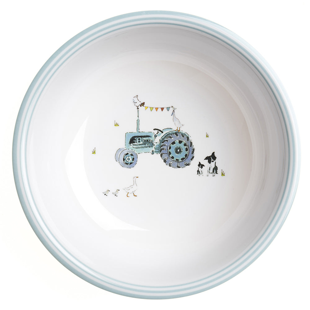 On the Farm Childrens Melamine Bowl