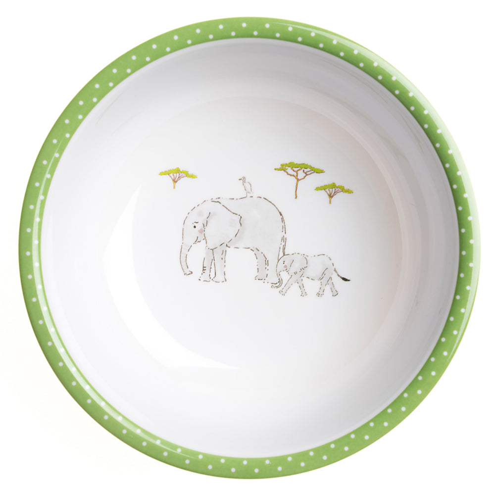 Safari Childrens Melamine Bowl