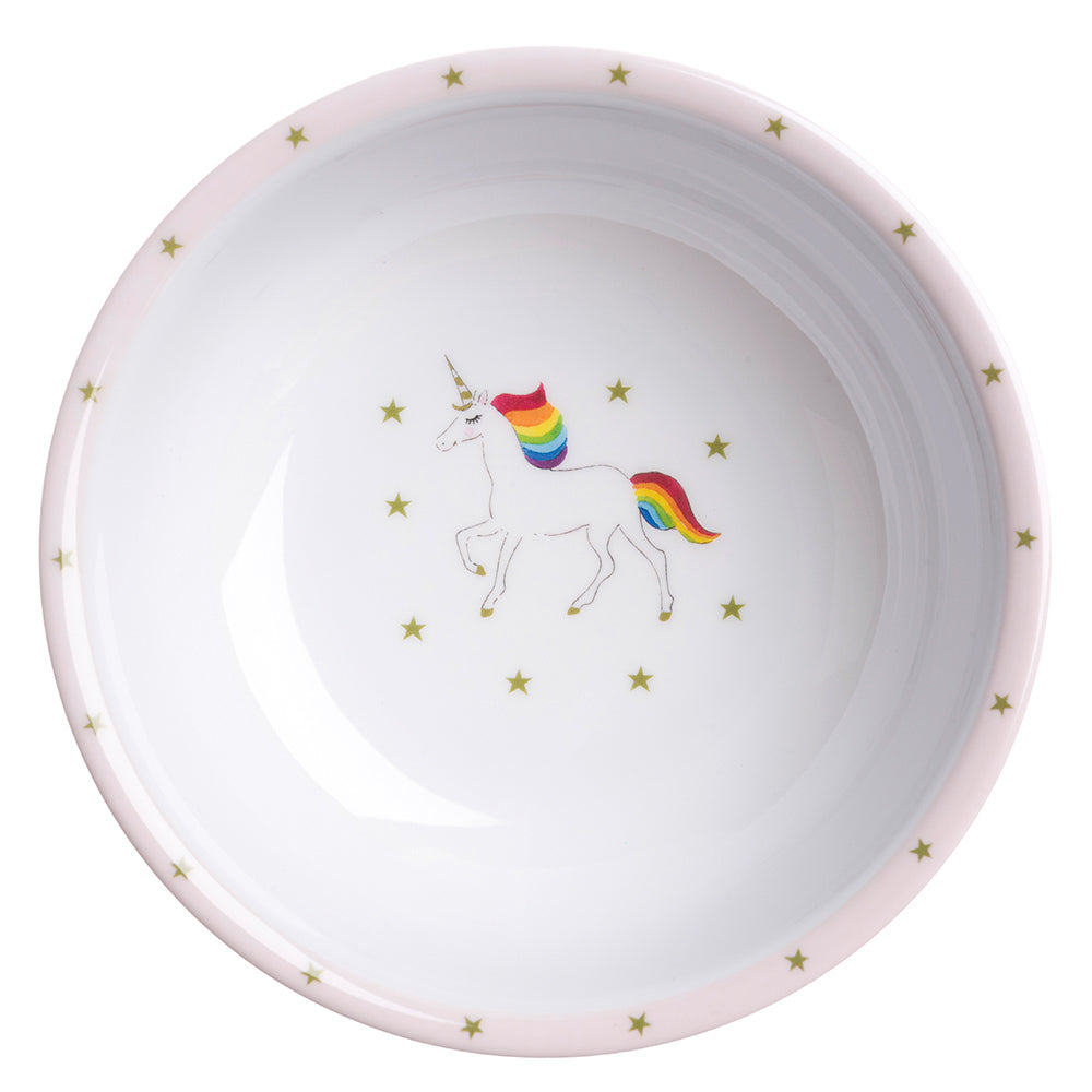 Unicorn Childrens Melamine Baby Bowl