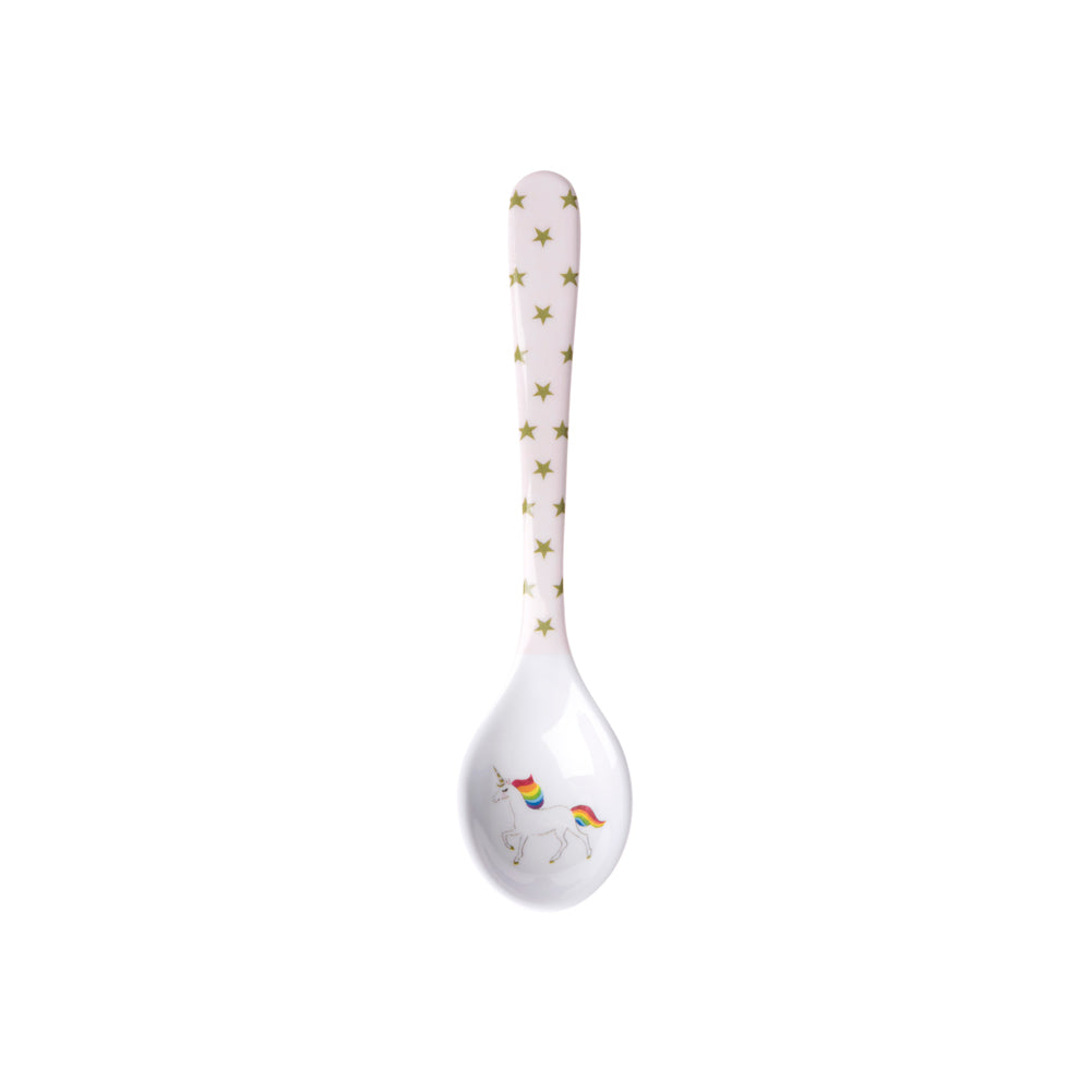 Unicorn Childrens Melamine Baby Spoon