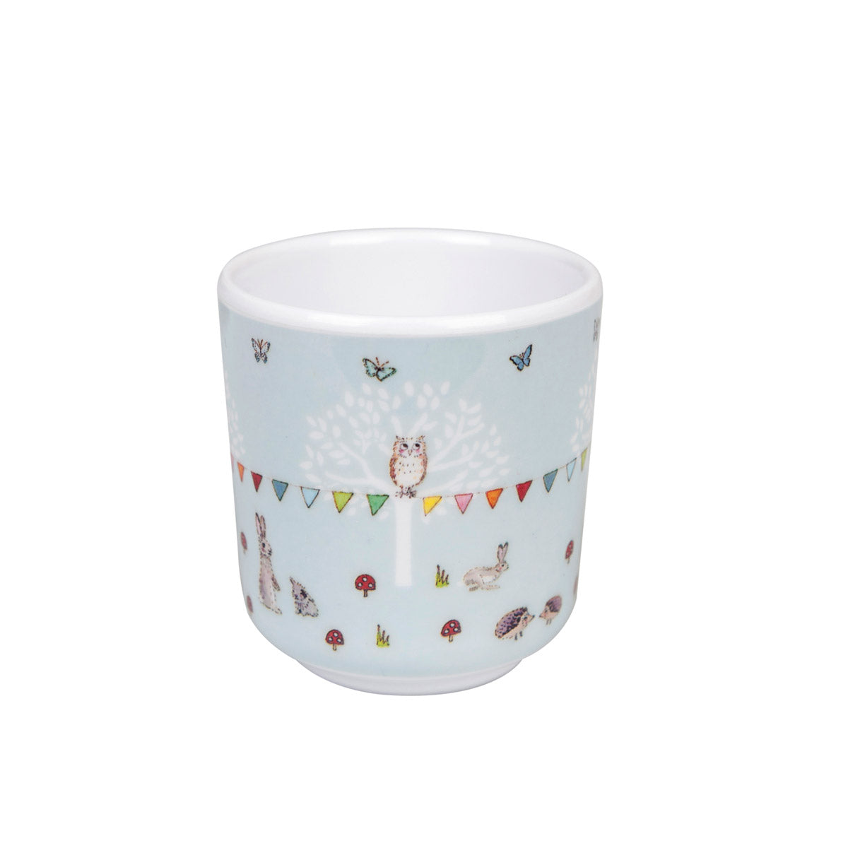 Woodland Party Kids Melamine Dinner Set