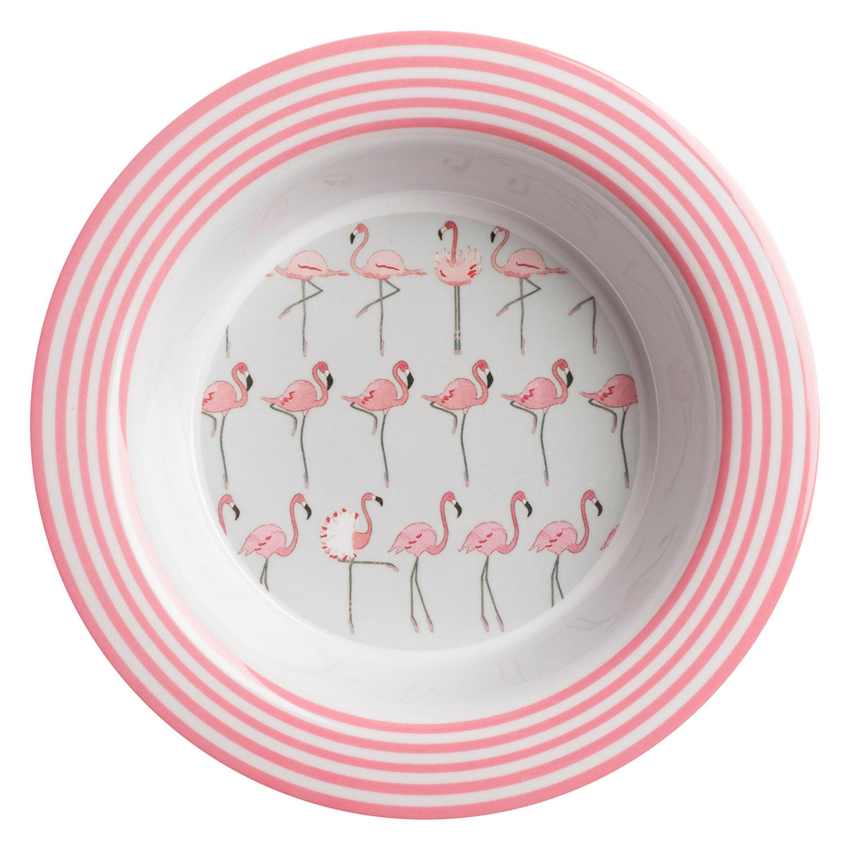 Flamingos Kids Melamine bowl