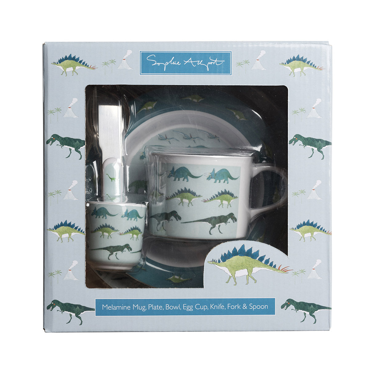 Dinosaurs Childrens Melamine Set