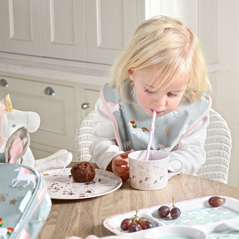 Unicorn Childrens Melamine Set