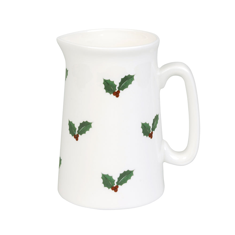 Holly & Berry Jug Small