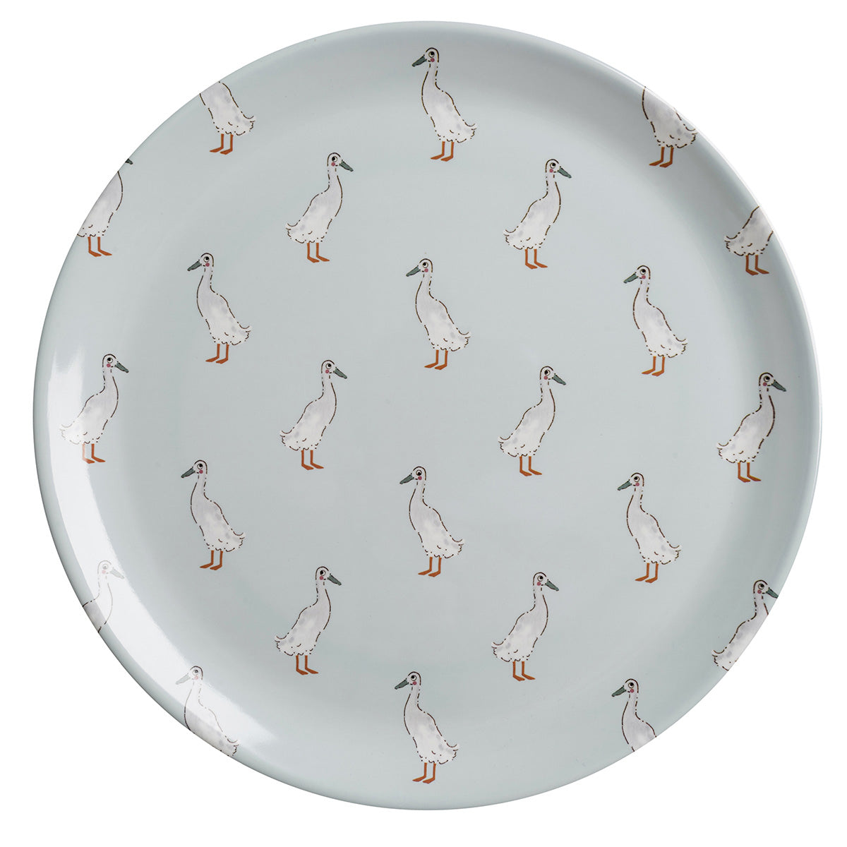 Runner Duck Melamine Dinner Plate